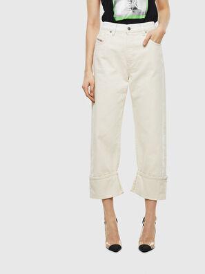 D-Reggy 009BB, White - Jeans