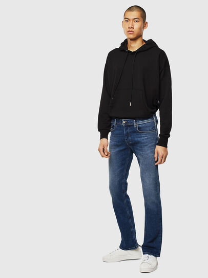 Diesel - Zatiny 0096E, Medium blue - Jeans - Image 5