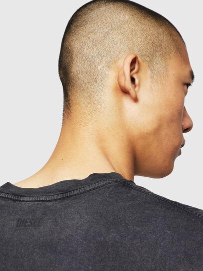 Diesel - T-THEA, Black - T-Shirts - Image 4