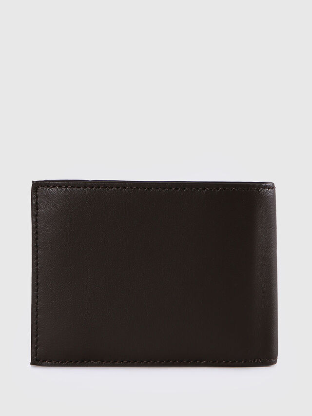 Diesel HIRESH XS, Dark Brown - Small Wallets - Image 2