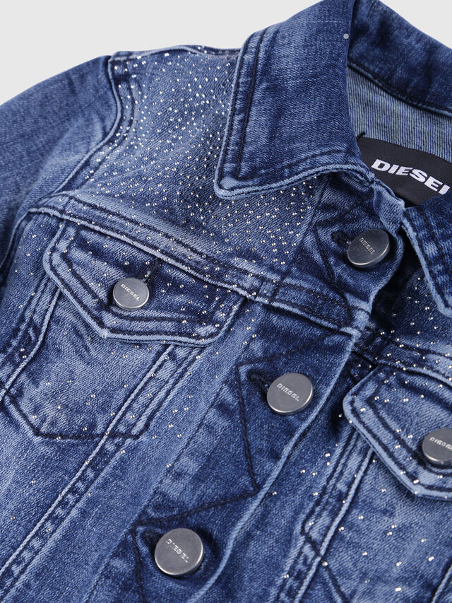 Diesel - JIMBIS, Blue Jeans - Jackets - Image 3