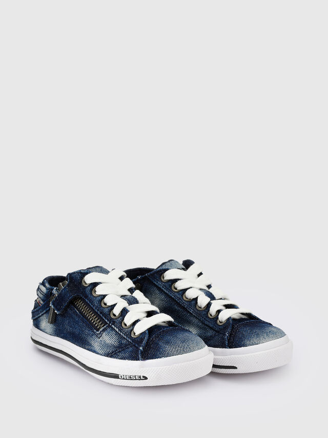 Diesel - SN LOW 25 DENIM EXPO, Blue Jeans - Footwear - Image 2