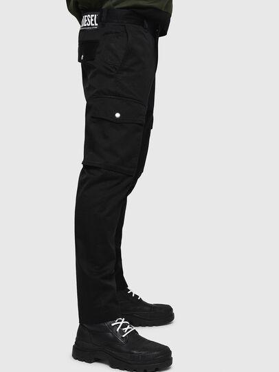 Diesel - P-JARED-CARGO, Black - Pants - Image 5
