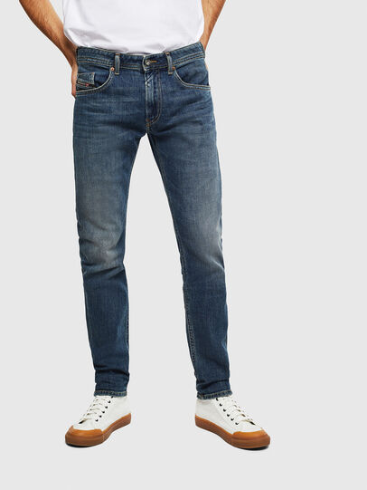 Diesel - Thommer 0095M, Dark Blue - Jeans - Image 1