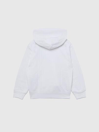 Diesel - SGIRKHOODCUTY OVER, White - Sweaters - Image 2