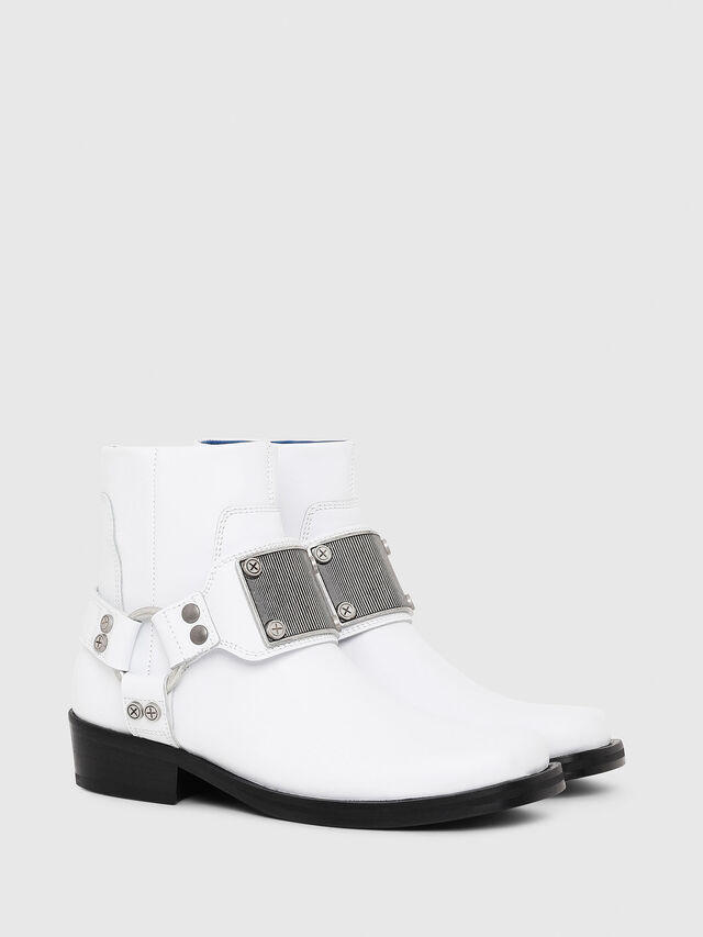 Diesel - D-BIOYS MC, White - Boots - Image 7