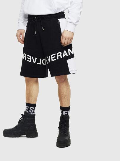 Diesel - P-SHAM, Black/White - Shorts - Image 1