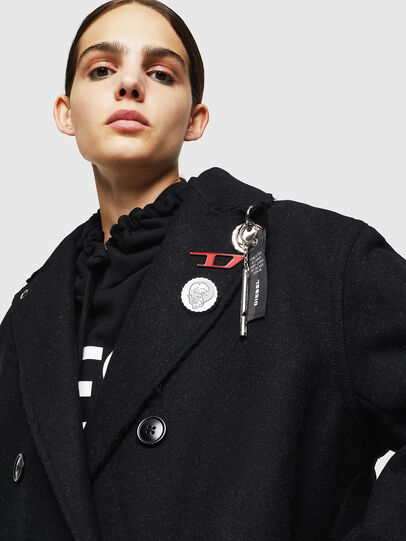Diesel - W-MALIN, Black - Winter Jackets - Image 3