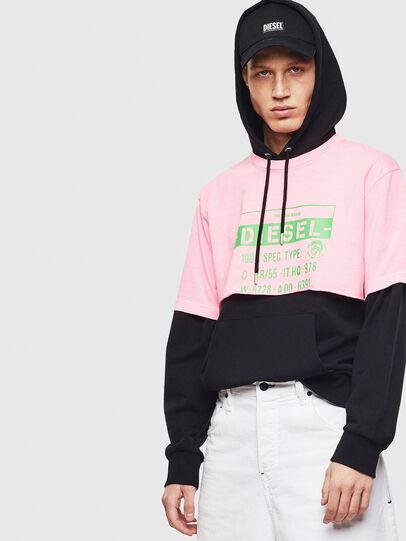 Diesel - T-CROPPY, Pink - T-Shirts - Image 5