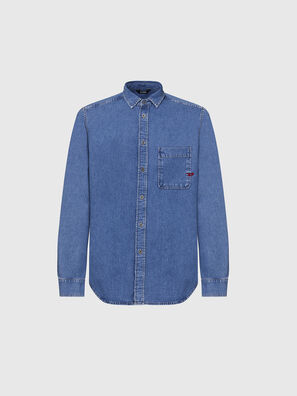 D-BILLY, Medium blue - Denim Shirts