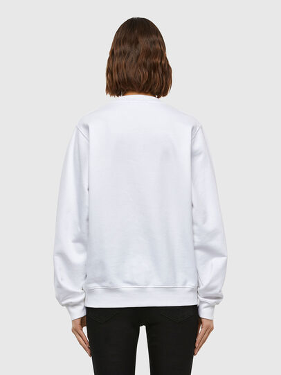 Diesel - F-ANG-V41, White - Sweaters - Image 2