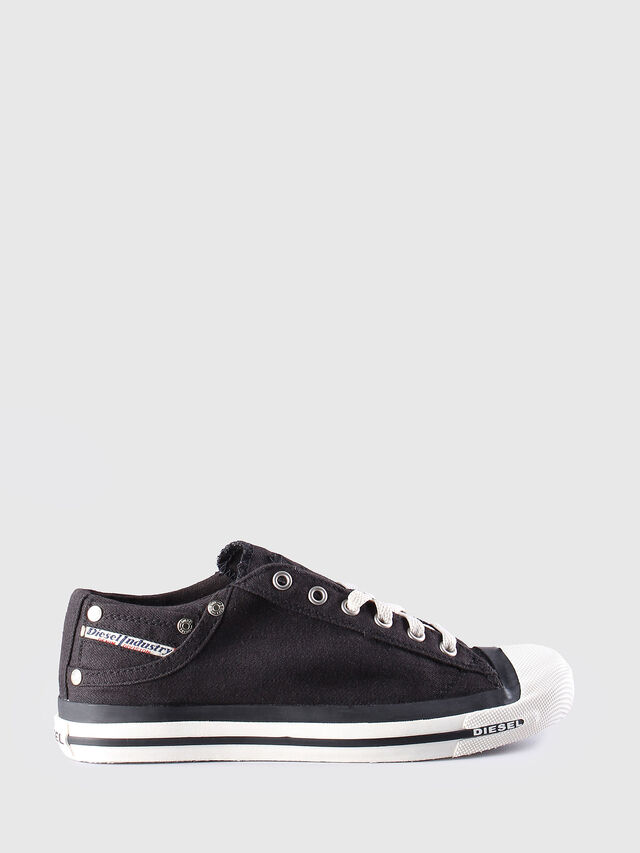 Diesel EXPOSURE LOW W, Black - Sneakers - Image 1