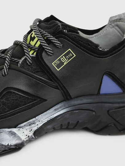 Diesel - S-KIPPER SP, Black - Sneakers - Image 4
