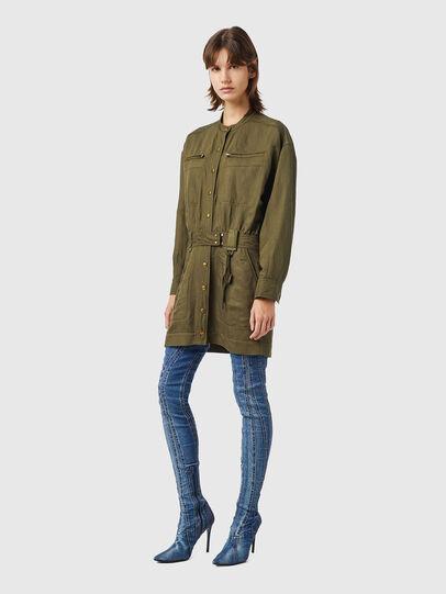 Diesel - D-ANGELICA, Olive Green - Dresses - Image 3