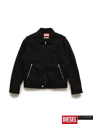 GR02-J301, Black - Denim Jackets