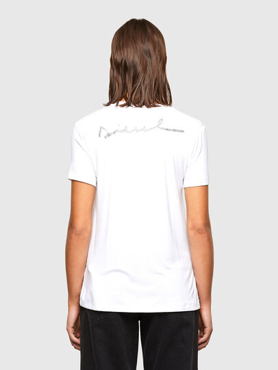 Diesel - T-SILY-R1, White - T-Shirts - Image 2
