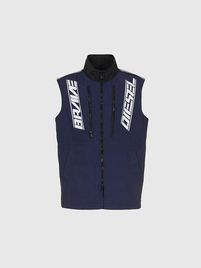 Diesel - W-KOON, Blue/Grey - Winter Jackets - Image 4