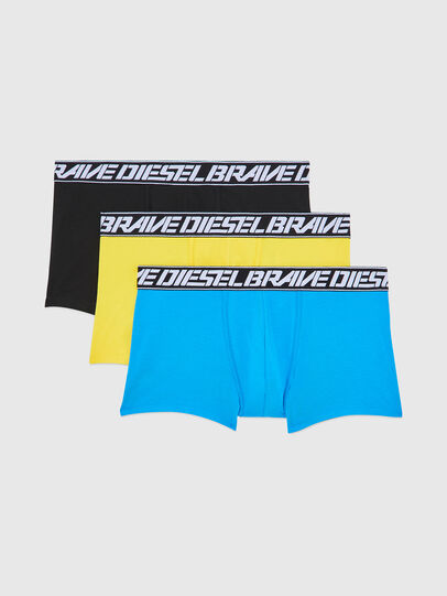 Diesel - UMBX-DAMIENTHREEPACK, Blue/Yellow - Trunks - Image 1