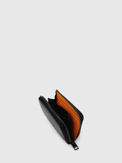 Diesel - L-PASSME, Black/Orange - Small Wallets - Image 3