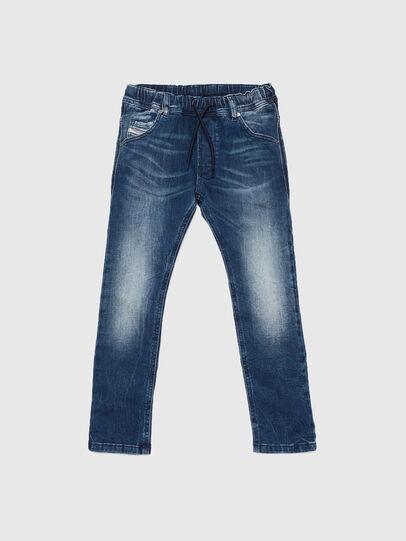Diesel - KROOLEY JOGGJEANS J F, Medium blue - Jeans - Image 1