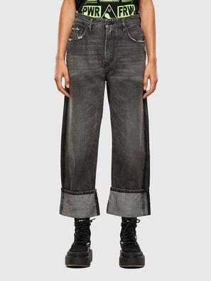 D-Reggy 009IL, Black/Dark grey - Jeans