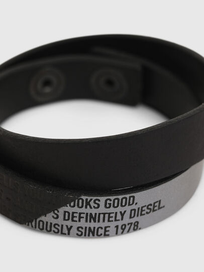 Diesel - A-CCA, Black - Bijoux and Gadgets - Image 2