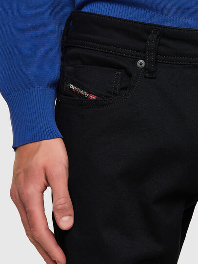 Diesel - Sleenker 069EI, Black/Dark grey - Jeans - Image 4