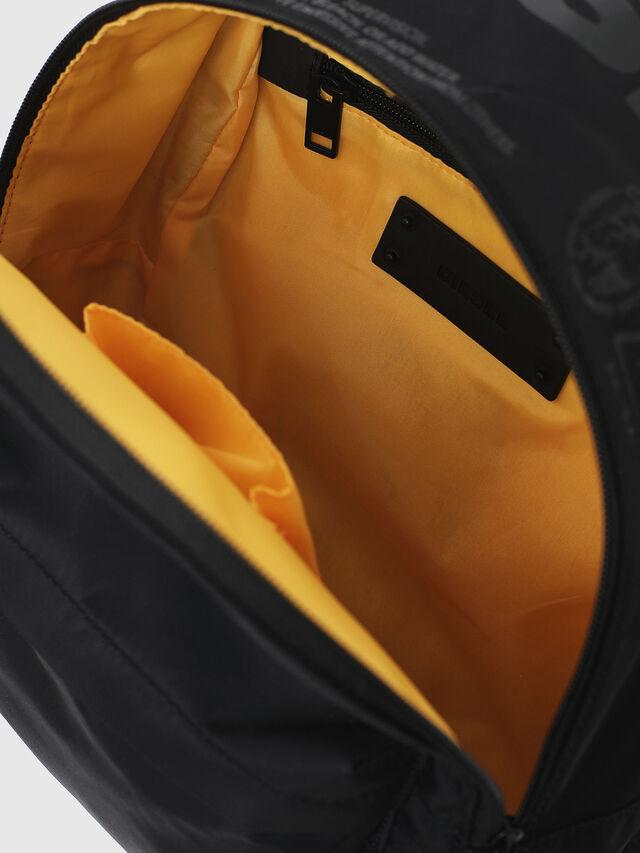 Diesel - F-SUSE BACK, Black/Yellow - Backpacks - Image 4