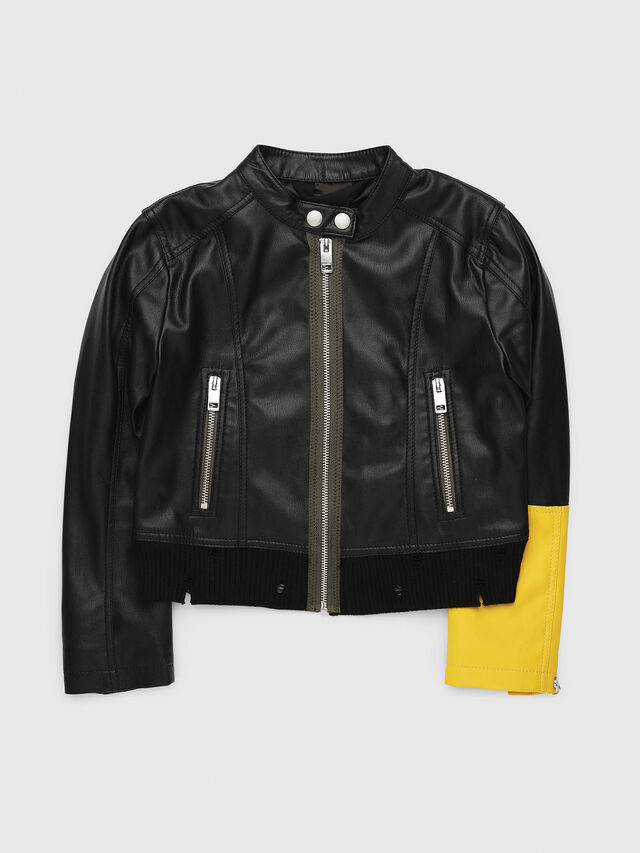 Diesel - JLLYSSA, Black/Yellow - Jackets - Image 1