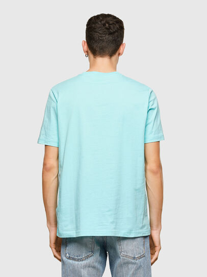Diesel - T-JUST-E9, Light Blue - T-Shirts - Image 2