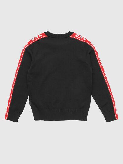 Diesel - KTRACKBY, Black/Red - Knitwear - Image 2