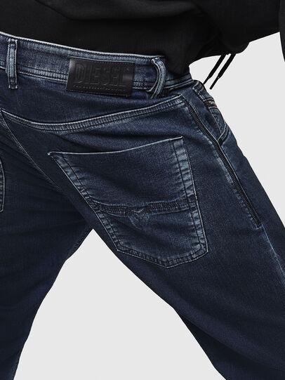 Diesel - Krooley JoggJeans 069HY, Dark Blue - Jeans - Image 5