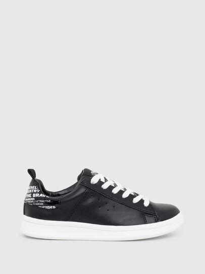 Diesel - SN LOW LACE 11 FULL, Black - Footwear - Image 1