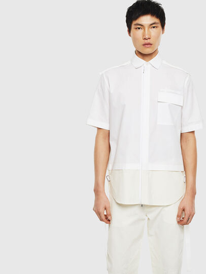 Diesel - S-GIBBS, White - Shirts - Image 1