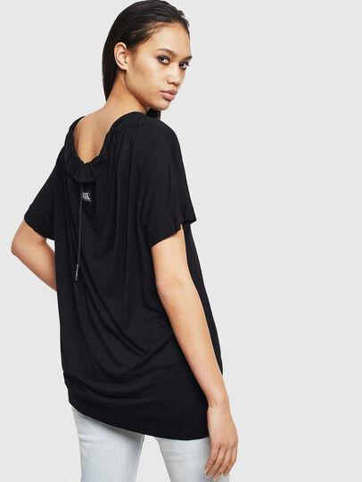 Diesel - T-TOKY-S2, Black - T-Shirts - Image 2