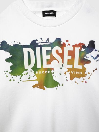 Diesel - SCREWDOSKY OVER, White - Sweaters - Image 3
