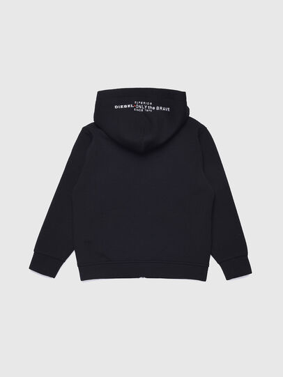 Diesel - SGORDONZIP OVER, Black - Sweaters - Image 2