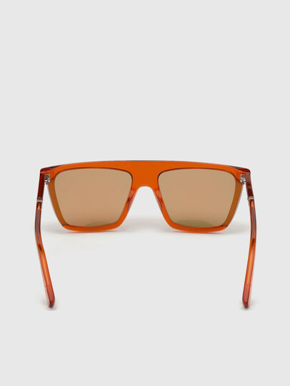 Diesel - DL0323, Orange - Sunglasses - Image 4