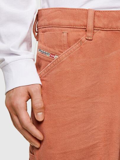 Diesel - D-FRANKY-SHORT-SP, Orange - Shorts - Image 3