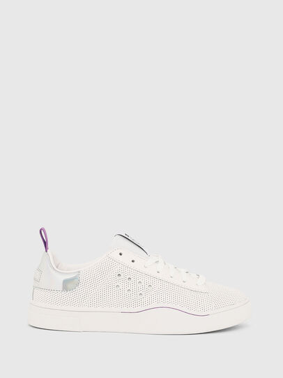 Diesel - S-CLEVER LC W, White/Pink - Sneakers - Image 1