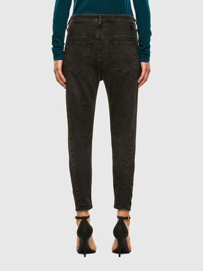 Diesel - Fayza JoggJeans 009HM, Black/Dark grey - Jeans - Image 2