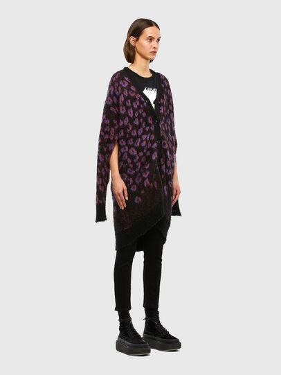 Diesel - M-REBECCA, Violet/Black - Knitwear - Image 5
