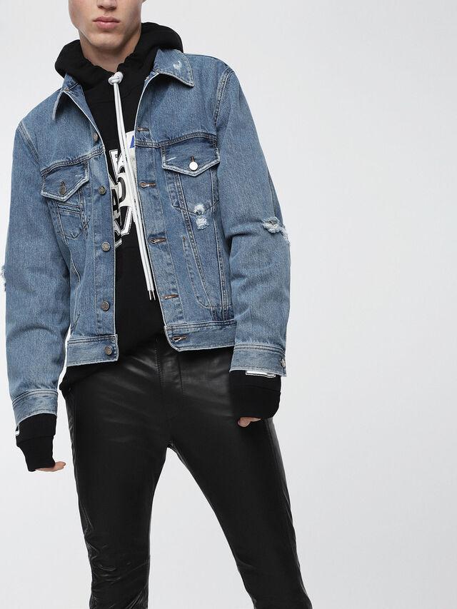 Diesel - D-ROBYN, Blue Jeans - Denim Jackets - Image 1
