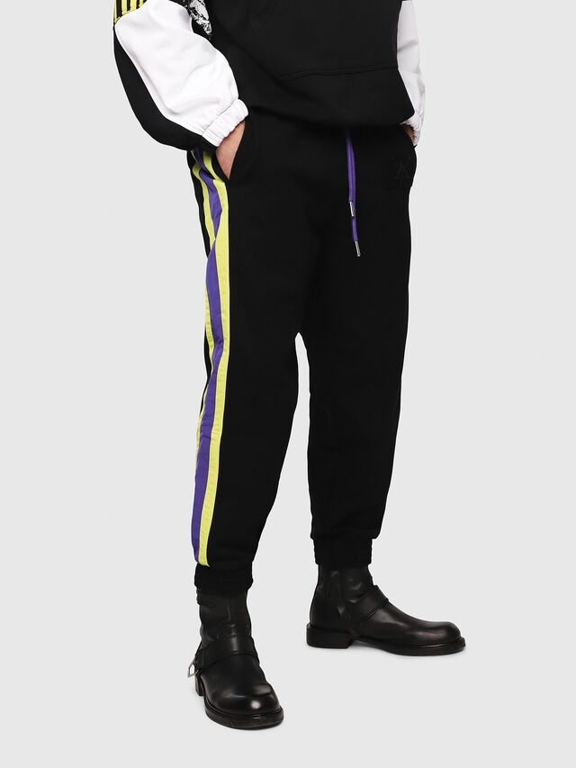 Diesel - P-FREITEL, Black - Pants - Image 1