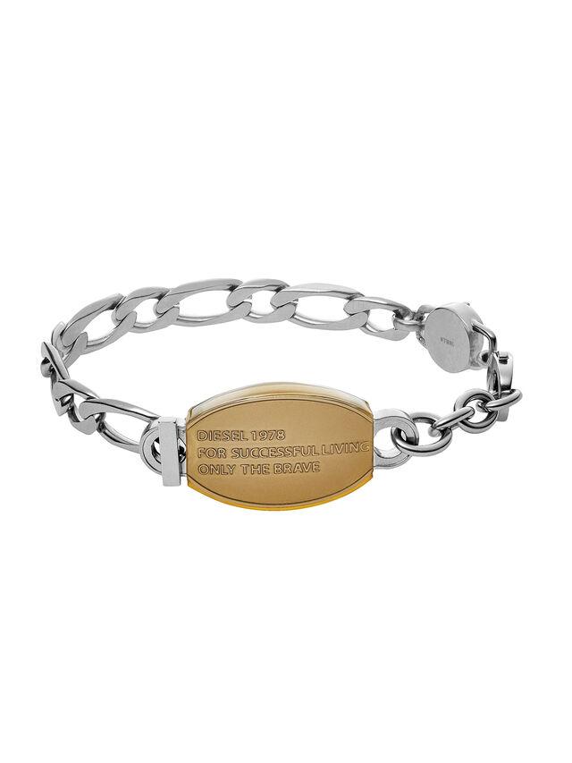 Diesel BRACELET DX1054, Silver - Bracelets - Image 1