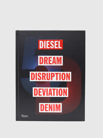 Diesel - 5D Diesel Dream Disruption Deviation Denim, Black - Books - Image 3