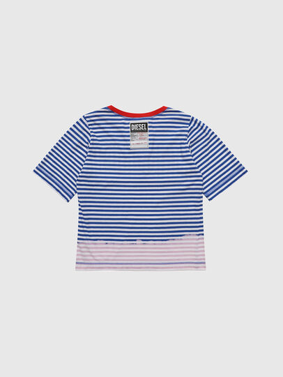Diesel - TJVANE, Blue/White - T-shirts and Tops - Image 2