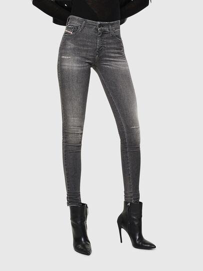 Diesel - Slandy 083AJ, Black/Dark grey - Jeans - Image 1