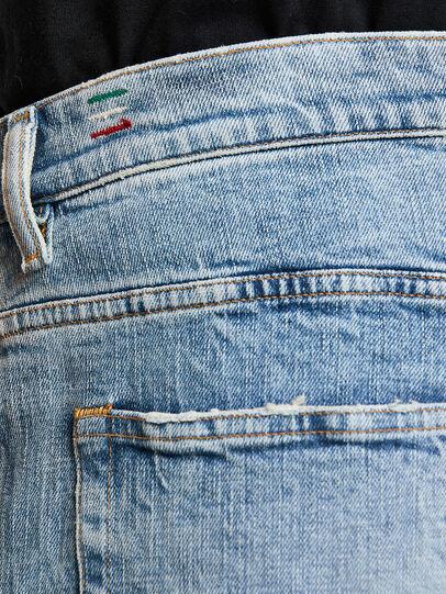 Diesel - D-Vider 009JR, Light Blue - Jeans - Image 5