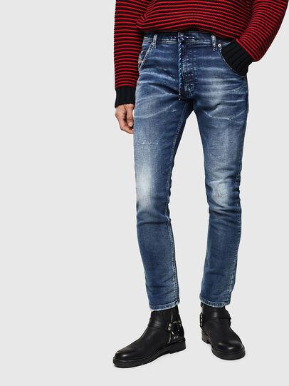 Diesel - Krooley JoggJeans 0096M, Dark Blue - Jeans - Image 1
